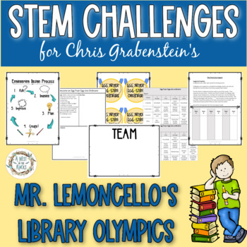Olympic-Style Challenges for Mr. Lemoncello's Library Olympics