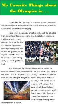 Olympic Symbols Publisher Project