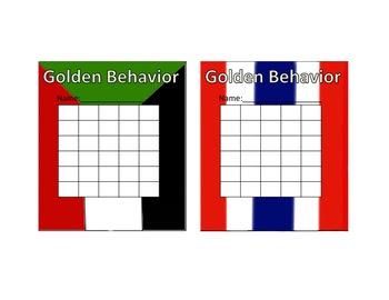 Olympic Theme Behavior Sticker Chart