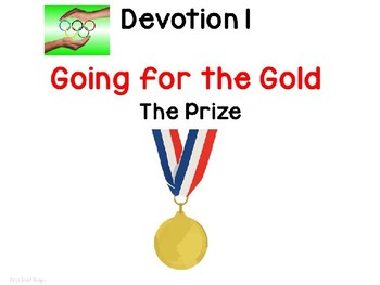 Olympic Theme PowerPoint Devotions for Christian Classroom