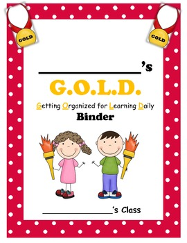 Olympic Themed Binder or Folder Cover