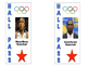 Olympic Themed Classroom Passes