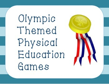Olympic Themed Games for Physical Education