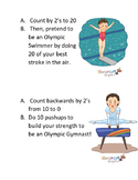 Olympic Themed Math Task Cards