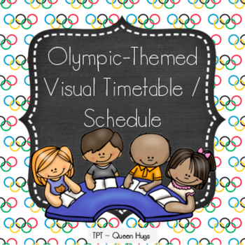 Olympic-Themed Visual Timetable / Schedule