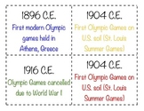 Winter Olympics 2018 Social Studies Bundle