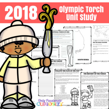 Olympic Torch Unit Study for the 2018 Winter Olympics