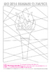 Free Olympic Torch and Flame creative art activity template