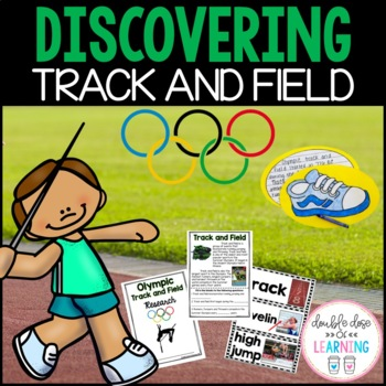 Summer Olympics: Olympic Track and Field Research Unit with PowerPoint