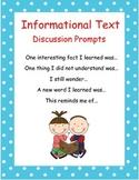 Informational Text Support Activities