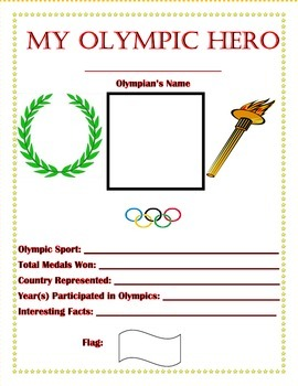 Olympic Unit of Study