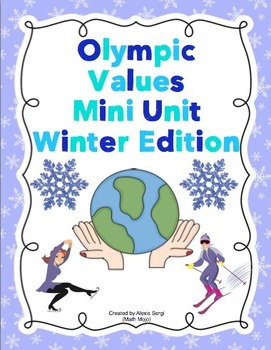 Olympic Values Mini Unit (Winter Edition)