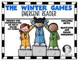 Winter Games Emergent Reader for Kindergarten & First Grade
