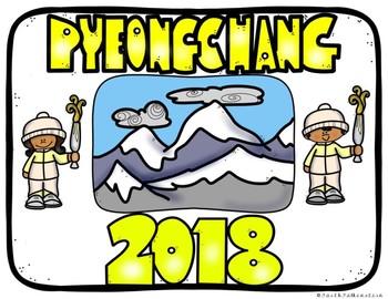 Olympic Winter Games PyeongChang 2018 Printable Posters