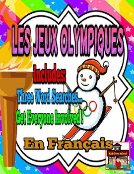 Olympic Word Searches in FRENCH!