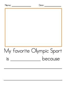 Olympic Writing