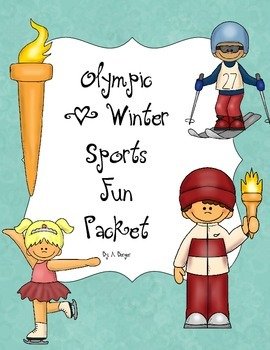 Olympic and Winter Sports Fun Pack