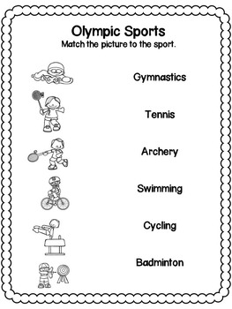 Olympics 2016 Activities Pack (US and UK Spelling)