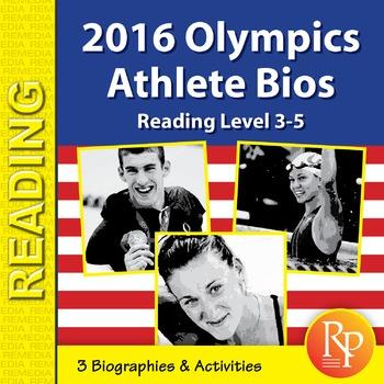 Olympics 2016 Athlete Bios