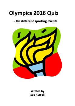 Olympics 2016 Quiz