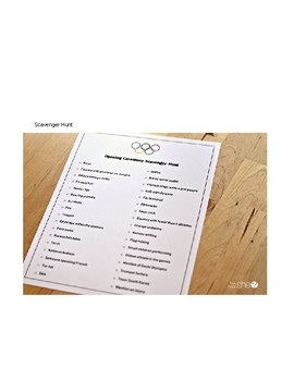 Olympics 2018 - Activities for Critical Thinking!