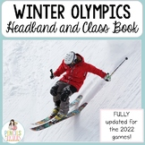 Olympics 2018 Class Book & Headband - Winter Games for Primary Grades