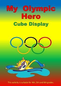 Olympic Hero -cube display