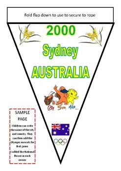 Olympics - Pendant Banner Timeline