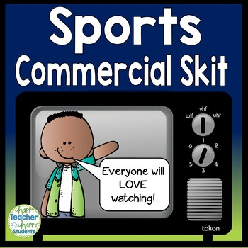 Olympics Activity: Create a Commercial for the Winter Olympics 2018!