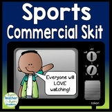 Create a Sports Commercial Skit: Perfect for a Summer Olympics 2020 Project!