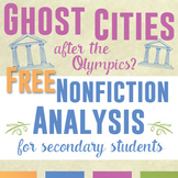 Nonfiction Reading Response Activity for Secondary Students