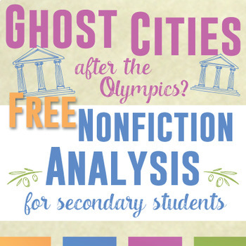 Nonfiction Analysis for Secondary