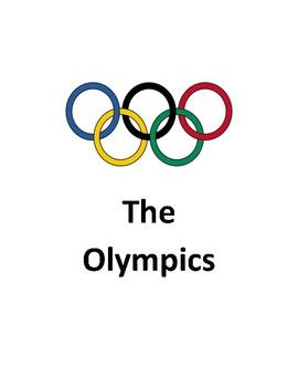 Olympics Activity book