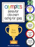 Olympics Behavior Chart Going for Gold!