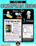 Famous Athlete Biography Writing Posters