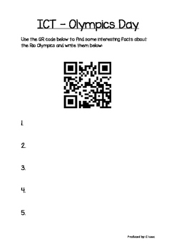 Olympics Bundle Reading Groups