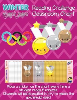Olympics Classroom Reading Challenge