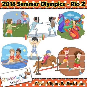 olympics clip art by ramonam graphics teachers pay teachers rh teacherspayteachers com Olympic Symbol Clip Art Winter Olympic Sports Clip Art