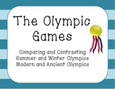 Olympics Compare and Contrast Activities