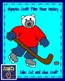 Polar Bear Hockey Craft (Winter, Olympics)