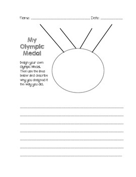 Olympics-Create your own Medal