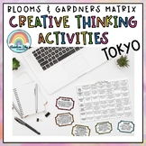 World Sports Creative Thinking Activities - Blooms Grid