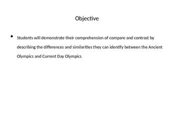Olympics (EngageNY PPT)