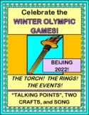 """""""Winter Olympics 2018 Fun!"""" --  Crafts, Song, and Talking Points!"""