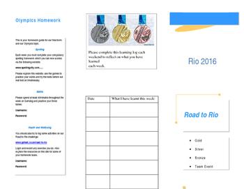 Olympics Homework Challenge