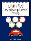 Olympics How do we get home transportation chart