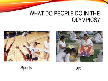 Olympics Lesson