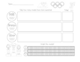 Olympics Math, Tally's and Graphs!