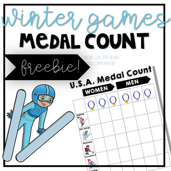 Winter Games Medal Count - Freebie!