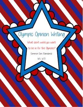 Olympics Opinion Writing